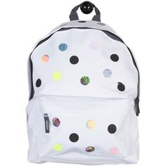 Shapes of Things - Polkadot Backpack White