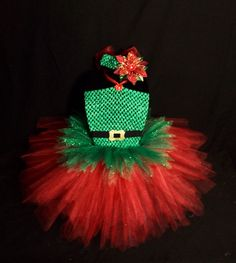 Shop for tutu on Etsy, the place to express your creativity through the buying and selling of handmade and vintage goods. Jazz Costumes, Tutu Costumes, Running Costumes, Christmas Tutu, Christmas Costumes, Christmas Child, Fancy Dress For Kids, Kids Dress Up, Tutu Outfits