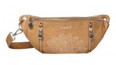 !!!Gürteltasche Agra Desigual Rep Aquiles Krokoprägung bestickt Agra, Fanny Pack, Achilles, Crocodile, Artificial Leather, Bags, Patterns, Women's, Hip Bag