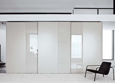 Offset Matt & Gloss Wardrobe by Go Modern