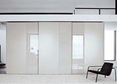 Offset Matt & Gloss Wardrobe by Go Modern