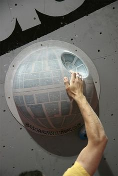 Star Wars Climbing Wall Holds. WHAT?! This is awesome. @Anthony Jacobsen