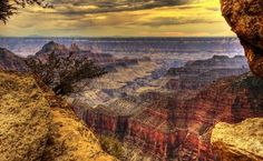Bright Angel Point by Wolfgang Staudt
