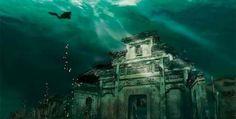 Затонувший город Lion City – китайская Атлантида. (10 фото)