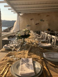 Summer reception set up for a beach wedding at Santorini, Greece   #santoriniweddingplanner   #destinationwedding #weddingplanning #weddingplanner #greeceweddingplanner