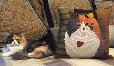 Pet Applique Pillow • WeAllSew • BERNINA USA's blog, WeAllSew, offers fun project ideas, patterns, video tutorials and sewing tips for sewers and crafters of all ages and skill levels.