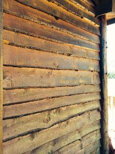 Live edge siding  Wilderness Wood Company Nallen, WV Log Siding, Metal Siding, Timber Cladding, Exterior Cladding, Modern Log Cabins, Siding Options, Cabin House Plans, Wood Company, Cabana