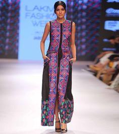 Black & Purple Embroidered Silk Long Jacket With Macrame Belt Diwali Sale, Handloom Weaving, Lakme Fashion Week, Anarkali Suits, Long Jackets, Occasion Wear, Embroidered Silk, Lovely Dresses, Summer Wear