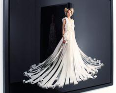 Charmin Toilet Paper Wedding Dress!