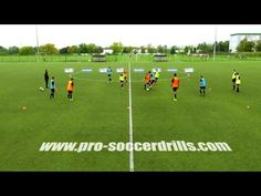 (1) Small Sided Soccer Game - Ball Protection with Neutral Players - YouTube