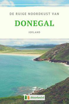 De ruige noordkust van Donegal leent zich uitstekend voor het maken van mooie roadtrips. Verlaten stranden,  hoge kliffen en kleine inhammen en baaien maken dit tot een schitterend stukje Ierland. Het landschap is prachtig, de Ierse mensen ontzettend vriendelijk en achter elke bocht ontdek je weer nieuwe bezienswaardigheden. #Donegal #ierland #bezienswaardigheden #roadtrip Erin Go Bragh, Irish Baby, Donegal, Ireland, Hiking, Van, Pure Products, Water, Holiday