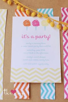Pretty girls party invites. For this design email: olivesdesigns2@gmail.com