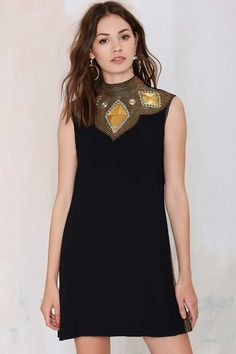 Vintage Vaswani Embroidered Dress | Shop Vintage at Nasty Gal