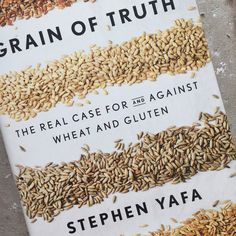 This book on gluten and grains arrived yesterday in the post. And I got sucked in and read all the Appendix 2 on how to bake your own sourdough bread. I just love a book that's well-written and effortless to read. An looking forward to reading this about the debate on modern wheats - but from a sensible point of view.