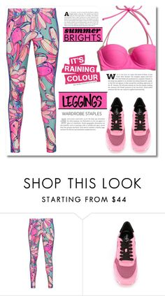"""Wardrobe Staples: Leggings"" by dolly-valkyrie ❤ liked on Polyvore featuring adidas Originals, Hogan, Leggings and WardrobeStaples"