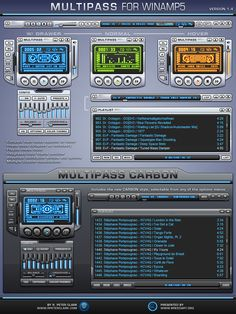 I never liked Winamp. But this is a sexy GUI design.