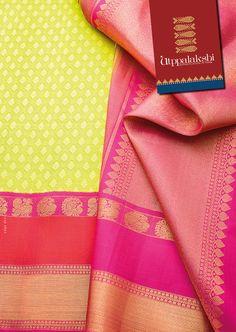 Unusual green body accompanied by contrasting border and pallu. Three different anapakshi motifs make it an exclusive design. Stand out in the group.#Utppalakshi #Sareeoftheday#Silksaree#Kancheevaramsilksaree#Kanchipuramsilks #Ethinc#Indian #traditional #dress#wedding #silk #saree#craftsmanship #weaving#Chennai #boutique #vibrant#exquisit #pure #weddingsaree#sareedesign #colorful #elite