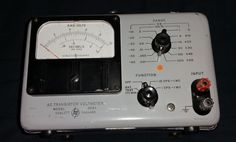 Vintage HP 403A AC Multimeter Battery Operated, Rare and Hard to find....... #HP