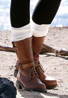 J. Jayz Overknees im Online Shop von Ackermann Versand #Mode #Fashion #Herbst #Autumn Riding Boots, Combat Boots, Tights, Socks, Autumn, Winter, Shopping, Style, Fashion