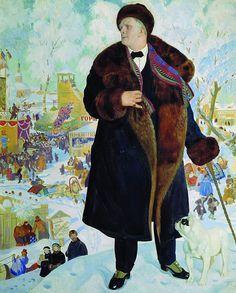 Портрет Ф. И. Шаляпина. 1921