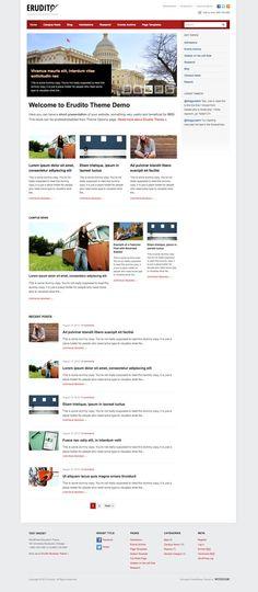 Erudito Responsive WordPress Colleges Theme