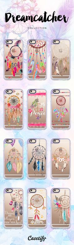Dream without fear. Love without limits. Click through to shop these iPhone 6 #dreamcatcher iPhone 6 case designs: https://www.casetify.com/artworks/jSndV4IqJw | @casetify