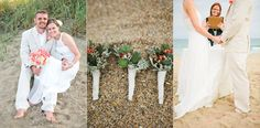 Intimate Ft. Lauderdale Beach destination wedding in Ft. Lauderdale, Florida. Client provided beautiful succulent boutonnieres for guests. Coral rose bouquet, officiant, wooden white garden chairs, sand ceremony, arrangements for private beach wedding, and photography by Small Miami Weddings.