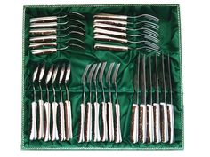 Hirschhorn Besteck Set auf alpenglut.at Shops, Lifestyle, Cutlery Set, Tents, Retail, Retail Stores