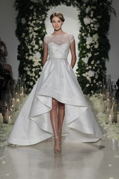 The Best Short Wedding Dresses at Bridal Fashion Week  - ELLE.com