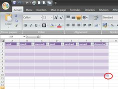 Mise en forme des tableaux Excel en un clic ! Le Web, Microsoft Excel, Multimedia, Online Business, Software, Internet, Day Planners, Tips And Tricks, Office Automation