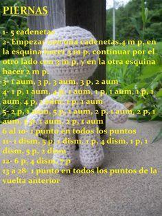 Free Amigurumi d pattern – BuzzTMZ Crochet Doll Pattern, Crochet Dolls, Crochet Patterns, Crochet Hats, Love Crochet, Crochet Granny, Crochet Motif, Baby Knitting Patterns, Baby Patterns
