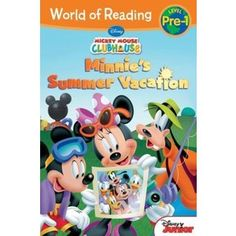 World of Reading Mickey Mouse Clubhouse Minnie's Summer Vacation Pre-Level 1