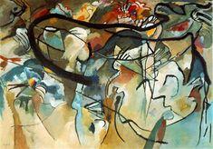 Wassily Kandinsky, Komposition V, 1911 - Abstrakte Kunst – Wikipedia