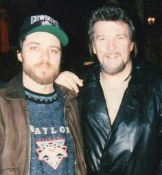 Waylon and his oldest son Terry Jennings.