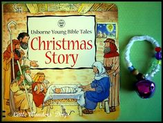 Christmas story bracelet: craft to help kids remember the story of baby Jesus