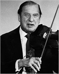 Henny Youngman-- saw him live 30 years ago this week. Funny, funny man