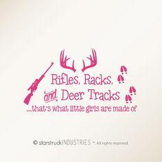 Rifles Racks & Deer Tracks That's What by StarstruckIndustries
