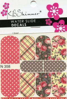 https://www.kbshimmer.com/coral-cream-plaid-floral-water-slide-decal-n358/