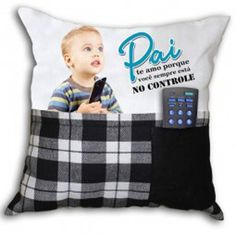 Almofada dia dos Pais personalizada