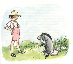 Christopher Robin with Eeyore  http://www.theatreofyouth.org