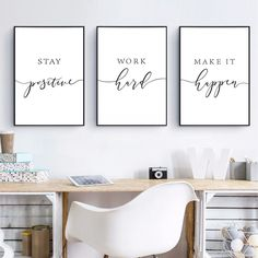 Office Wall Decor, Office Walls, Home Decor Wall Art, Motivational Wall Art, Wall Art Quotes, Quote Wall, Canvas Wall Decor, Canvas Art, Room Posters