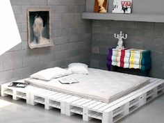 Nuevas ideas de camas con palets Más