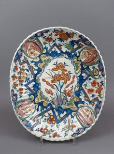 18th century Delft platter