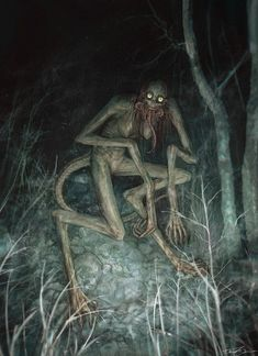 Fantasy Monster, Monster Art, Arte Horror, Horror Art, Creepy Horror, Cthulhu, Dark Fantasy, Fantasy Art, Aliens