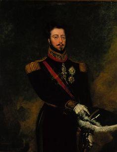 King Pedro IV (1798-1834), painted by aurício Sendim - National Museum of Carriages