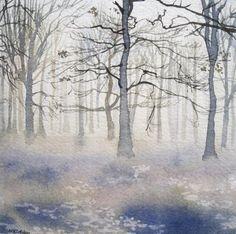 "Saatchi+Online+Artist+Lara+Cobden;+Painting,+""I+know+you'll+look+after+her""+#art"
