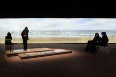 CIVIC architects - Flemish Nederlands Pavilion - Frankfurt - Exhibition Space | Photography ©Stijn Bollaert
