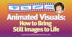 Do you use visuals on your blog and social media? Have you considered animating them? To explore how to use animated visuals in your content, I interview Donna Moritz. More About This Show The Social Media Marketing podcast is an on-demand talk radio show from Social Media Examiner. It's designed to help busy marketers and business [...]  This post Animated Visuals: How to Bring Still Images to Life first appeared on .  - Your Guide to the Social Media Jungle…