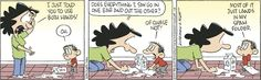 Spam folder – Baby Blues Cartoon for Baby Boys, Mom And Baby, Baby Blues Comic, Comics Kingdom, Funny Comic Strips, Animation, Smiles And Laughs, Morning Humor, American Comics