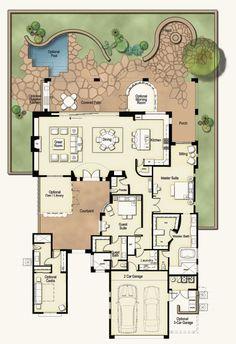 Casa Floorplan: Luxury Real Estate Dove Mountain Marana